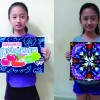 Buncho Painting lesson for kids by KP Wong Art & Design Studio