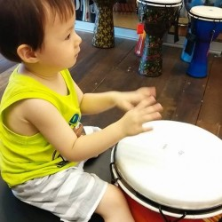 Percussion Group class with Steve Thornton  by Musical Inn Music School