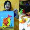 Oil Pastel Art for kids by KP Wong Art & Design Studio
