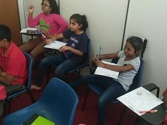 Tamil Language Class by Dakshra FIne Arts