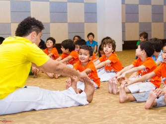 Preschooler Capoeira lessons by Casa Do Capoeira