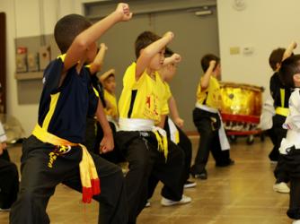 Kung Fu Class by Qian Mandarin Centre