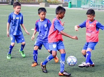 Football Lessons ( Juniors ) by Dream Village Football Academy