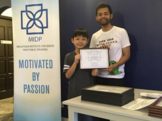 Eloquent Juniors by Malaysian Institute for Debate and Public Speaking (MIDP)