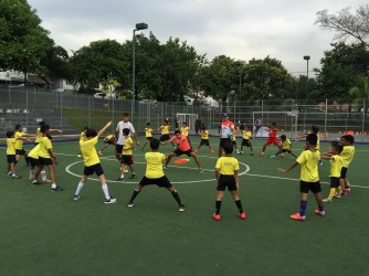 Kids Football Training  by Mehrbod International Football Academy