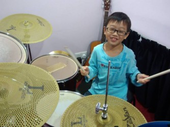 Drum lessons by The Music Factory