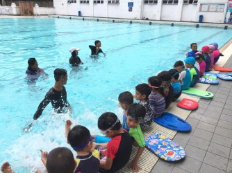 SHP: School Holiday Swim Program by WATER SAPIEN SWIM ACADEMY