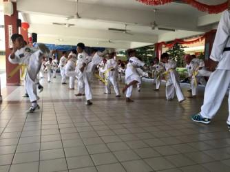 Taekwondo by CK Taekwondo Club ( Sekolah Kebangsaan Sri Petaling )
