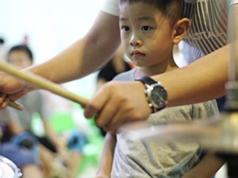 Drum lessons by Ouch Music Academy Sdn Bhd