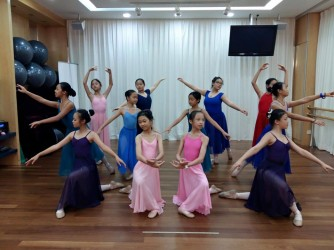 Grade 1 Ballet by Menuetto Music Sdn Bhd