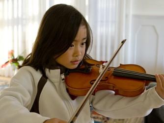 Violin/Cello lesson for kids by JJ Piano Forte