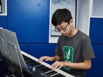 Keyboard lesson for kids by JJ Piano Forte