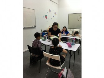 English Interactive Programme - (Level 1-3) by Cozy Kidz House