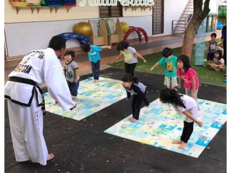Tae Kwon-Do with Vision Tae Kwon-Do by Nature Kids