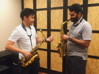 Saxophone lessons for kids by Swee Lee Music Company