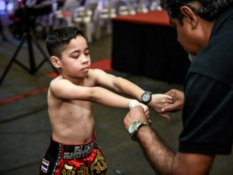 Muay Thai-Boxing for Children  by Merican Muay Thai Gym