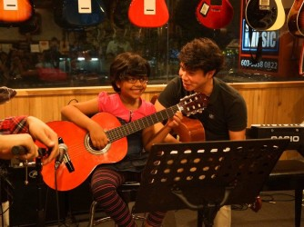 Acoustic Guitar Lesson by The Guitar Store @ Subang Jaya