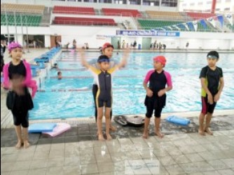 Swimming lessons ( Group  by WATER SAPIEN SWIM ACADEMY