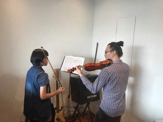 Violin Class for Kids by Mahogany Musical Instrument & Courses