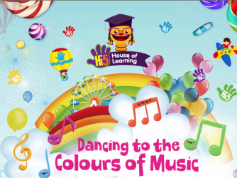 #SHP: Dancing to the Colours of Music by Hi-5 House of Learning