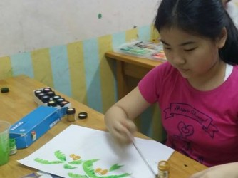 Colouring by WeNet Little Dino Art Studio