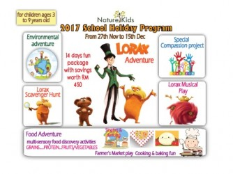 #SHP:  Fun School Holiday with Lorax and Friends by Nature Kids