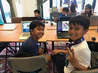 Coding through Gamification  by Young Coders Bangsar