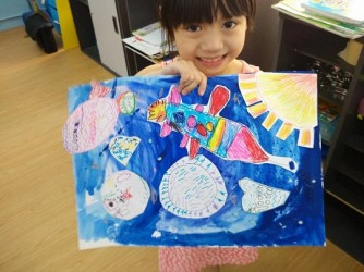 Children Creativity Art Class (Level 2) by Fino Art Enterprise
