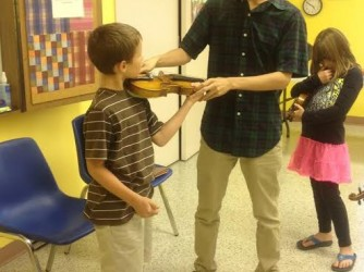 Violin Lessons by String Along Music Studio
