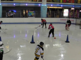 Sunday Skills-n-Drills Class  by Gary Tan Ice Hockey Academy
