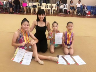 Rhythmic Gymnastics (Primary) by Genesis Performing Arts Academy