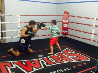Tiny & Teen Warrior Muay Thai by CROSS MUAY THAI Martial Arts Fitness