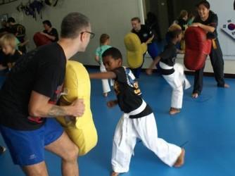 Black Belt Bus Martial Arts  by Martial Hartamas