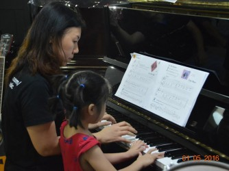 Piano Lesson ( Beginner ) by Masters Touch Conservatory of Music