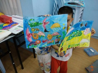 Children Creativity Art Class (Level 1) by Fino Art Enterprise