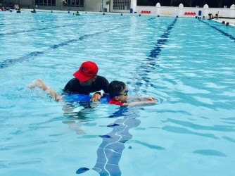 1-1 Swimming Lesson  by Super Crab Swimming Academy